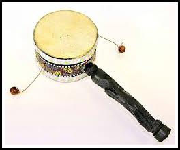ритуальный барабан дамару