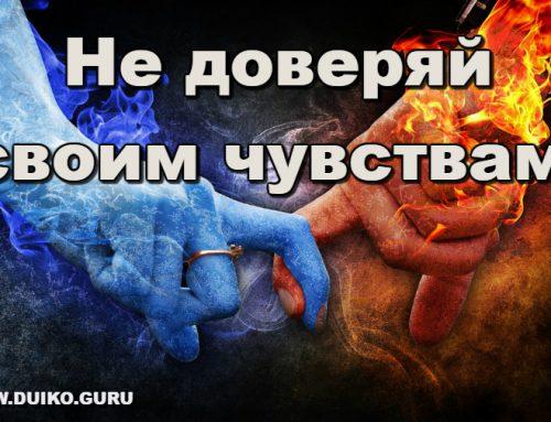 Не доверяй своим чувствам! Эзотерические секреты Андрея Дуйко.