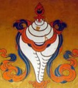 тибетский символ раковина, эзотерика кайлас, андрей дуйко