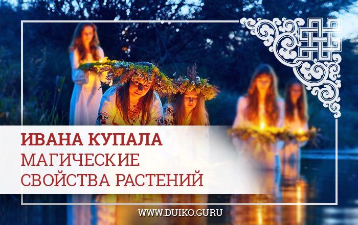 магические свойства растений, ивана купала, эзотерика кайлас, андрей дуйко, обряды и ритуалы