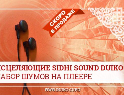 Исцеляющие Sidhi Sound Duiko — набор шумов на плеере
