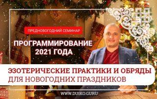 """Предновогодний семинар Андрея Дуйко """"Программирование 2021 года"""""""